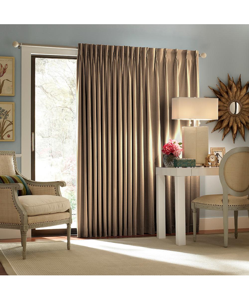 ... Patio Door Curtain Panel Wheat From Patio Door Curtain Panel