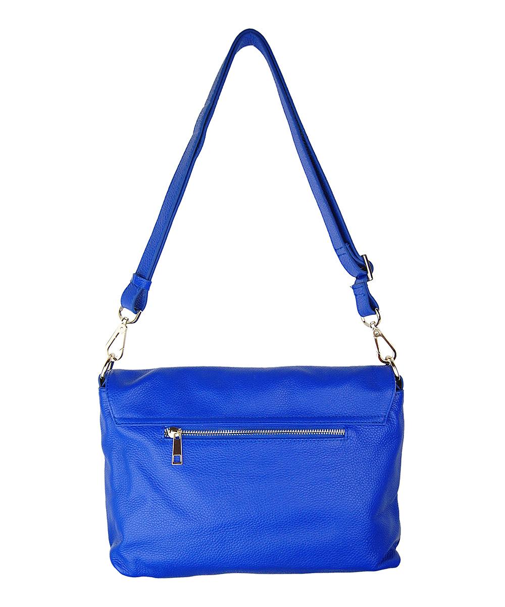 Cobalt Blue Marie Crossbody Bag