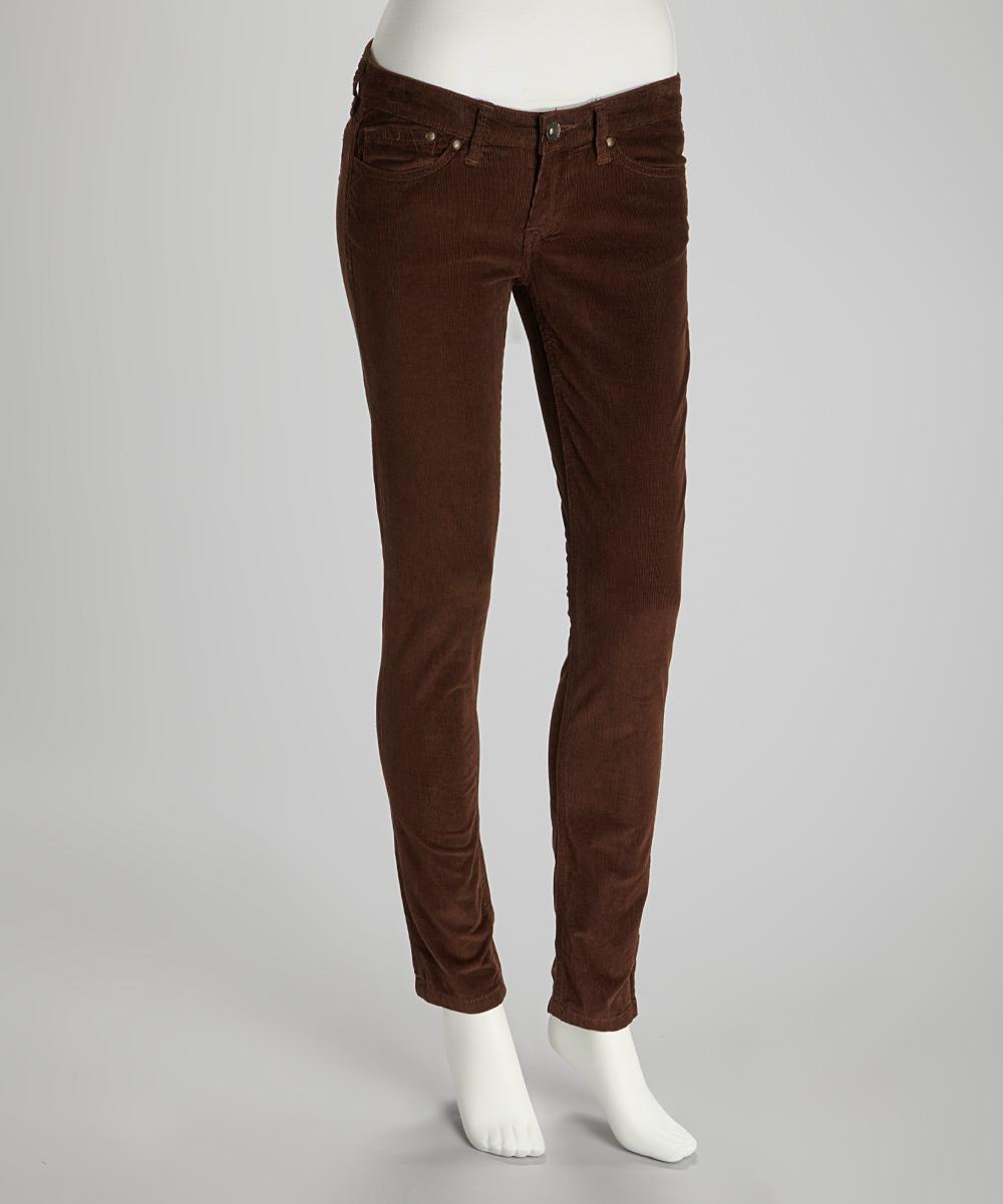 Wonderful  Cuffed Skinny Corduroy Pants  FC11620  WOMEN  OPENING CEREMONY