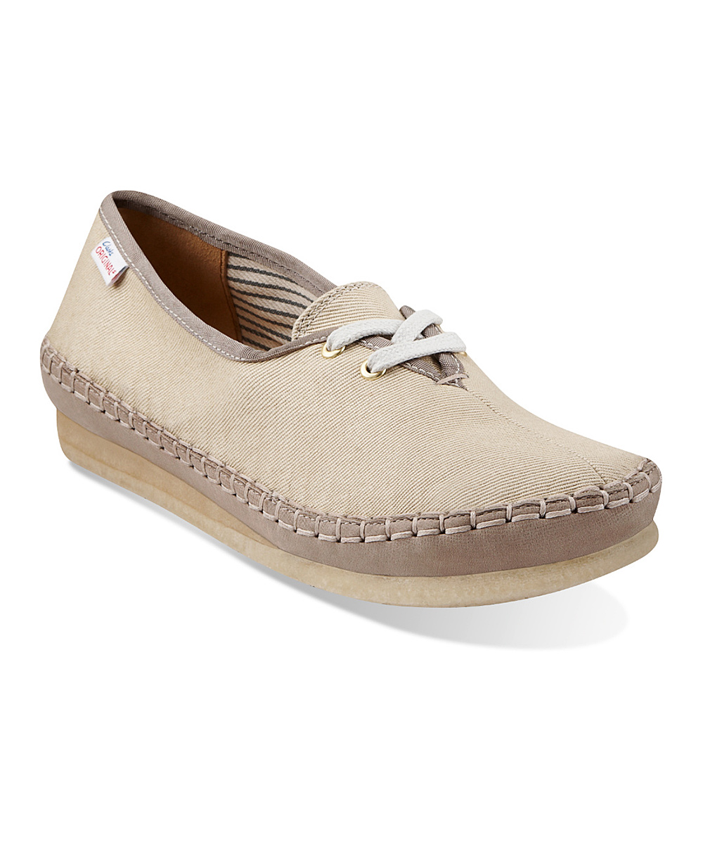 Clarks Natural Faraway Beach Lace-Up Shoe - Women | zulily