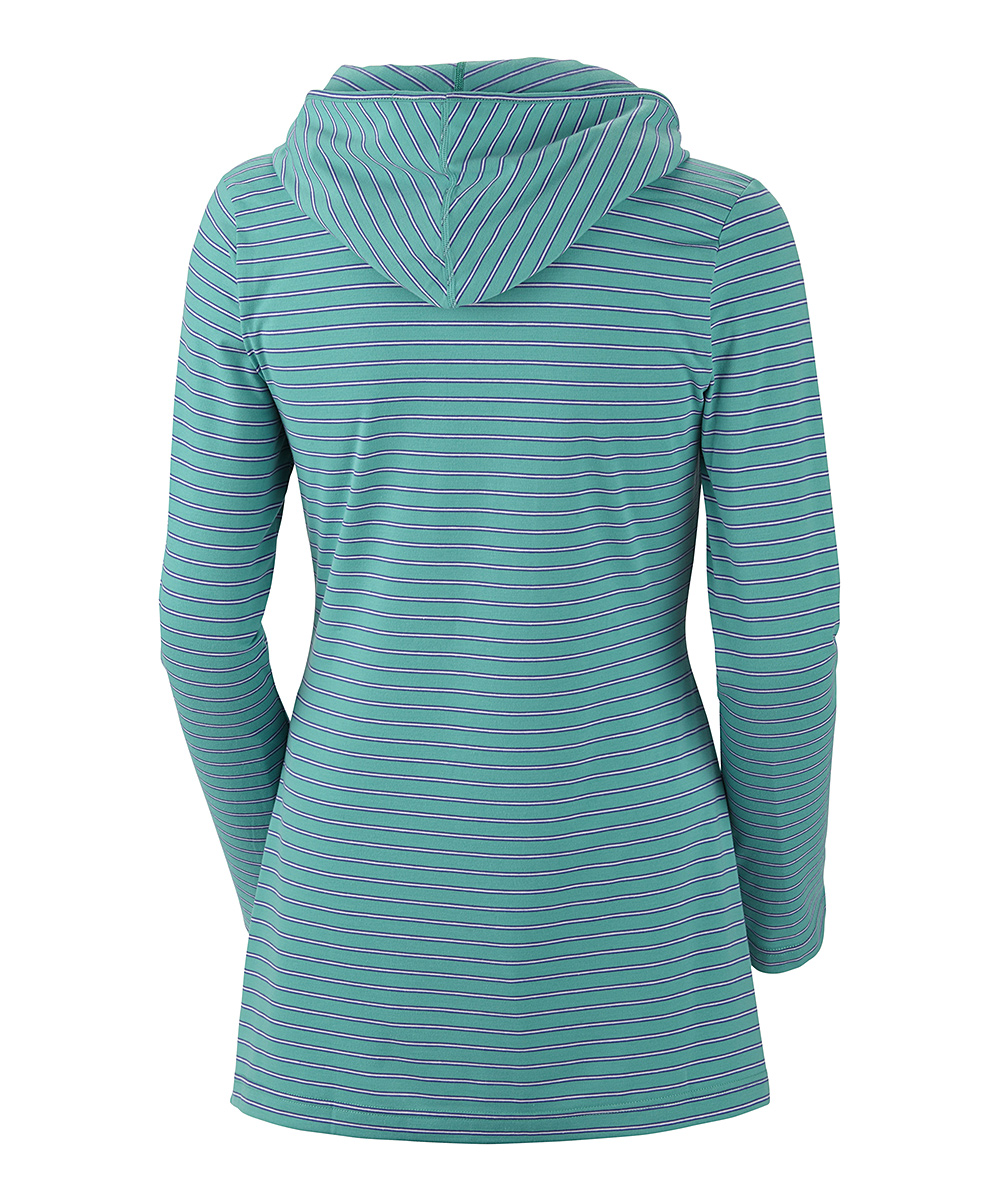 Columbia Glaze Green Reel Beauty Cowl Neck Hoodie - Women | zulily