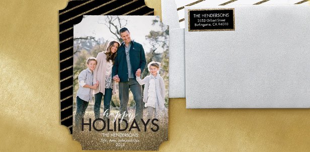 $20 for $40 on Custom Holiday Cards
