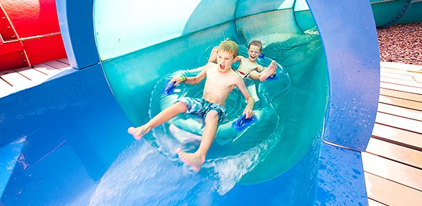 Waterpark, KidCabin Suite & Food Deal, Mason, OH: Friday