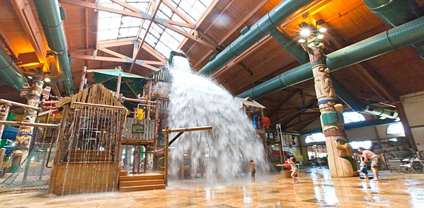 Waterpark, KidCabin Suite & Food Deal, Pocono Mtns, PA: Friday