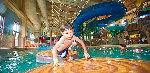Waterpark, KidCabin Suite & Food Deal, Traverse City, MI: Friday