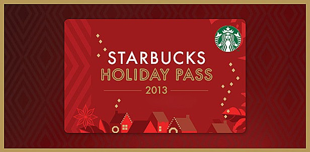 Starbucks Holiday Pass