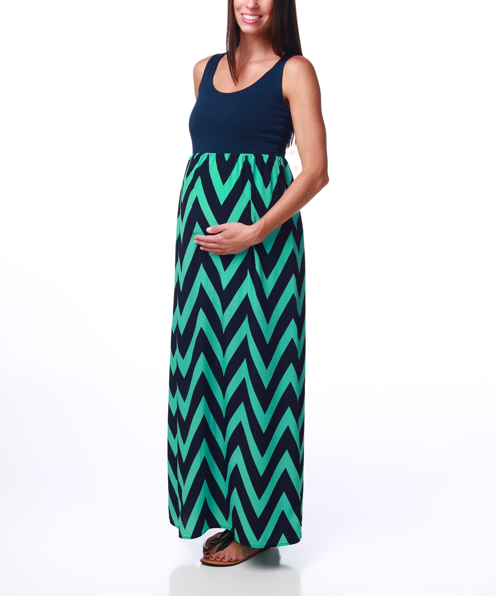 Chevron dress for juniors