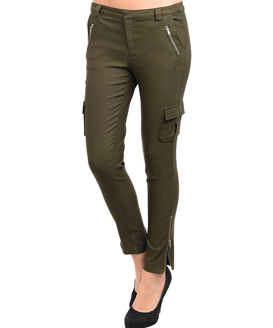 Popular For Office Hours And After Hours, A Substantial Twill Pant With The Sexy Silhouette And Stretch Comfort Of Leggings Slim Snap Cargo Pockets On The Sides And Darts At The Knees Are Throwback Details That Feel Totally Fresh