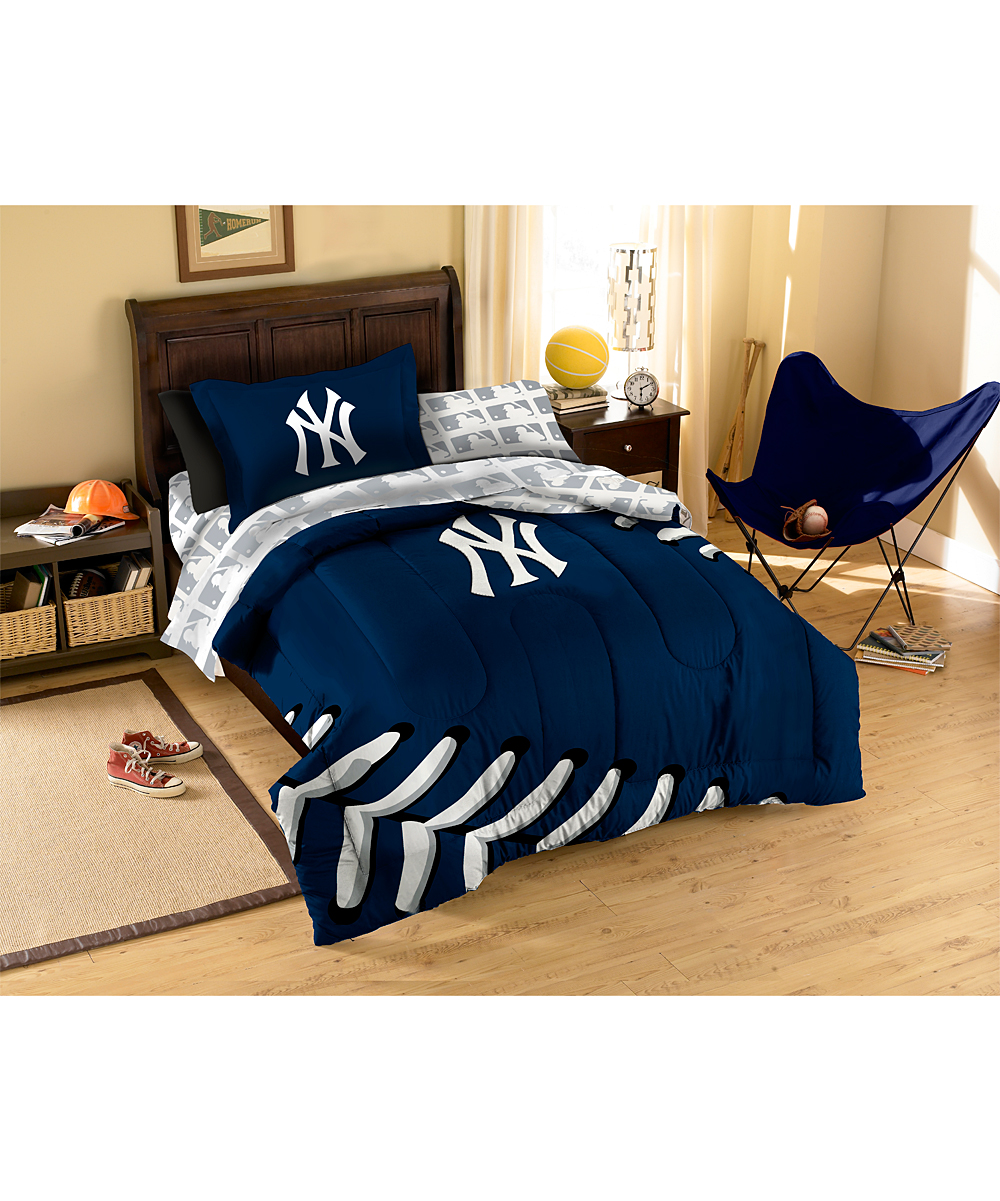 the northwest company new york yankees twin bedding set zulily