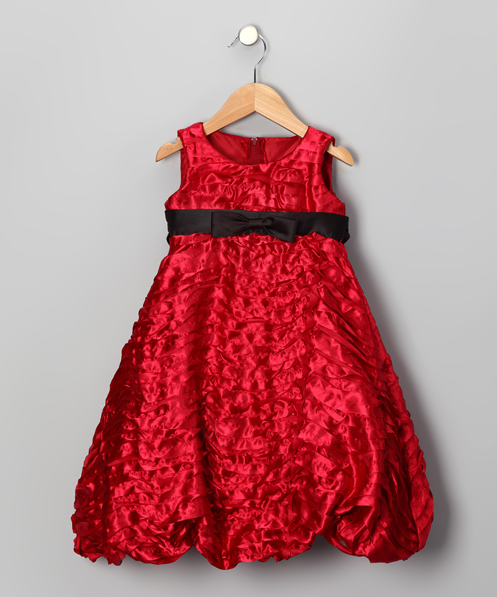 Http Superstarbabies Com Swea Pea Lilli Red Taffeta Holiday Dress From Zulily