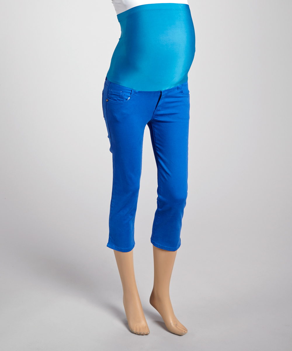 Creative Home  Women  Jeans  Solid Royal Blue Tommy Women Jeans