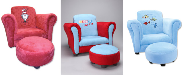Trend Lab Upholstered Toddler Chairs